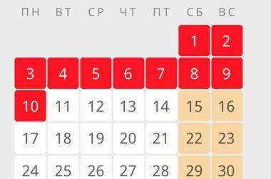 Указ Президента РФ «Об установлении на территории Российской Федерации нерабочих дней в мае 2021 года».